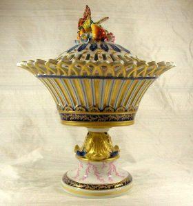 19th Century Potpourri Vase