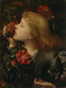 """Choosing"" (Portrait of Ellen Terry) George Frederick Watts, 1864"